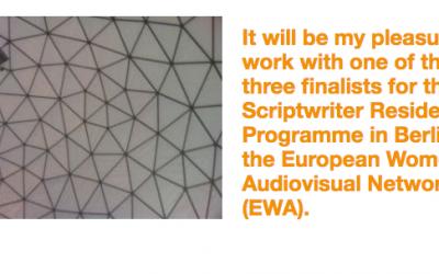 New Script Finalist In EWA Berline Residency